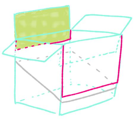 ダンボール絵本棚作り方7