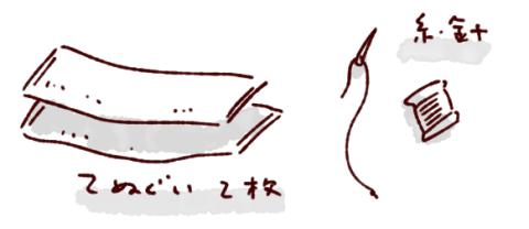 牛乳パックデコ材料