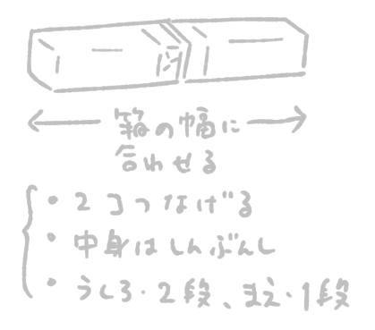 ダンボール絵本棚作り方2