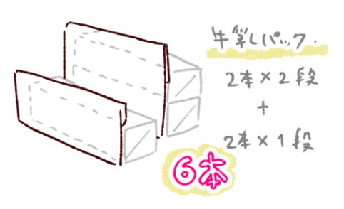 ダンボール絵本棚作り方5