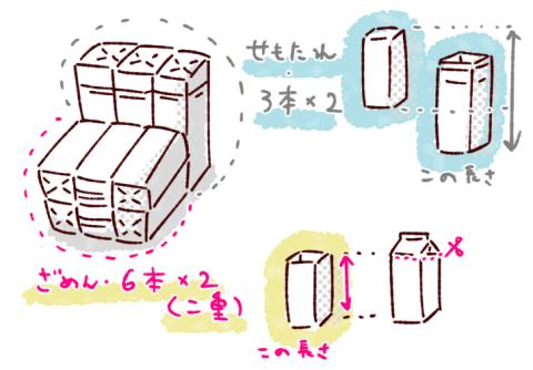 牛乳パックイス作り方設計図