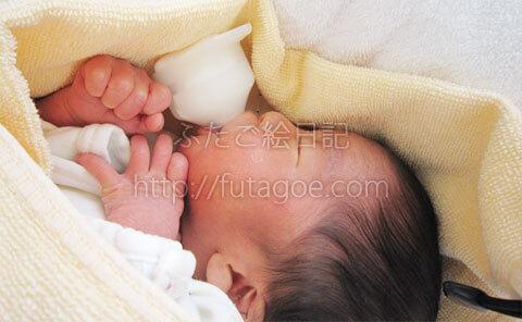 双子GCU赤ちゃん