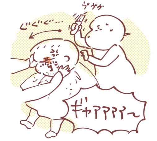 幼児バリカン髪型13