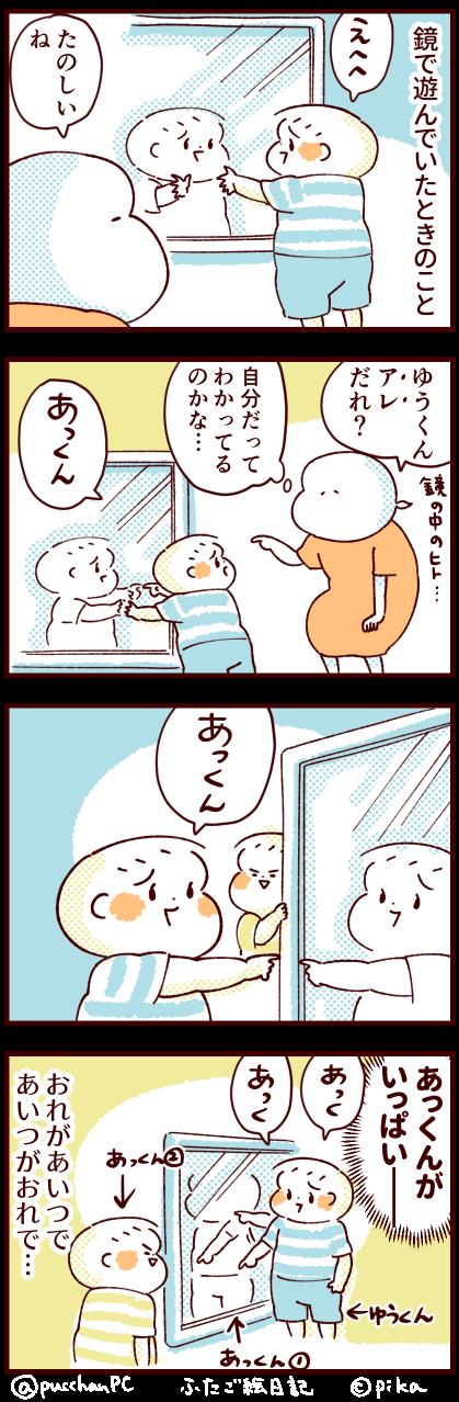鏡のなかの双子