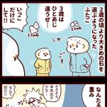 続・石拾いブーム~3歳の石事情~